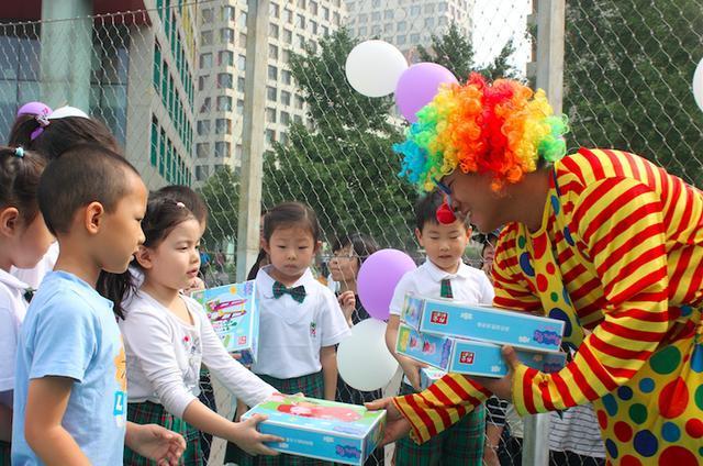 我们开学啦—记北京当代摩码幼儿园开学典礼图片
