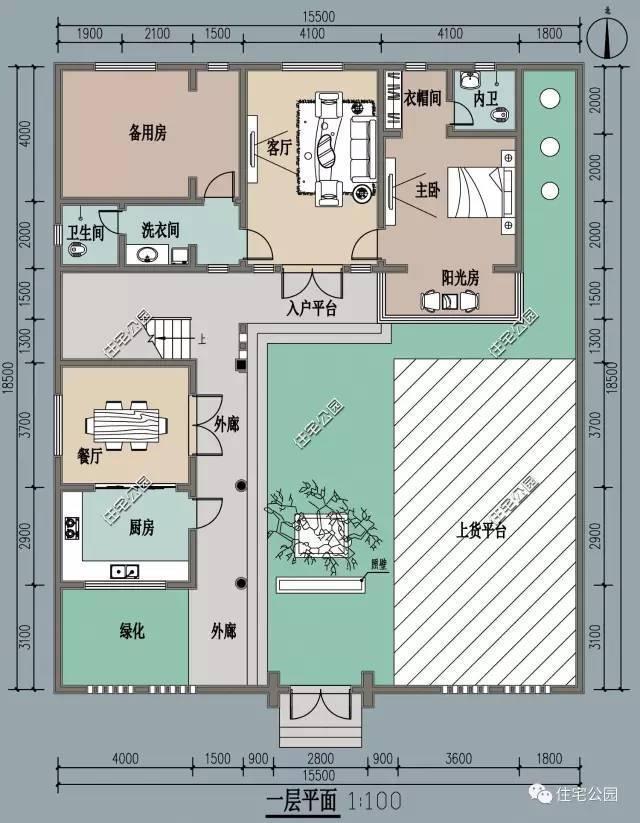 农村这样自建房,6套2层户型含平面图,新中式现代简欧全包括