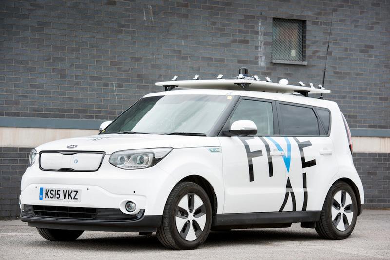 英国自动驾驶公司five AI完成3500万美元融..
