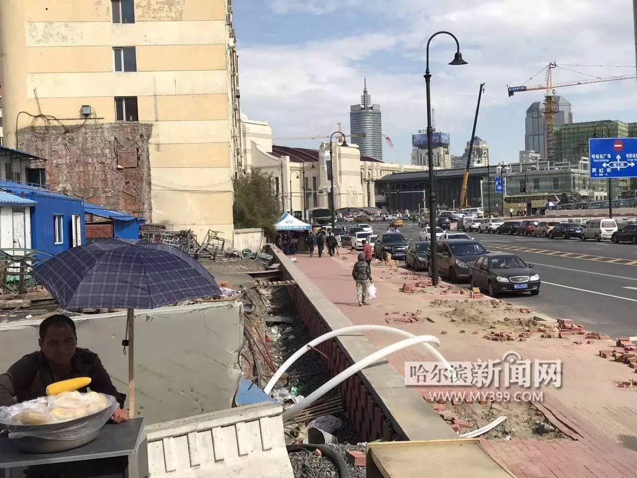 重要事情说三遍 哈尔滨火车站进出站口不在 哈站 了 已由铁路街迁至地工街,有免费班车走路过去得15分钟 附行走攻略