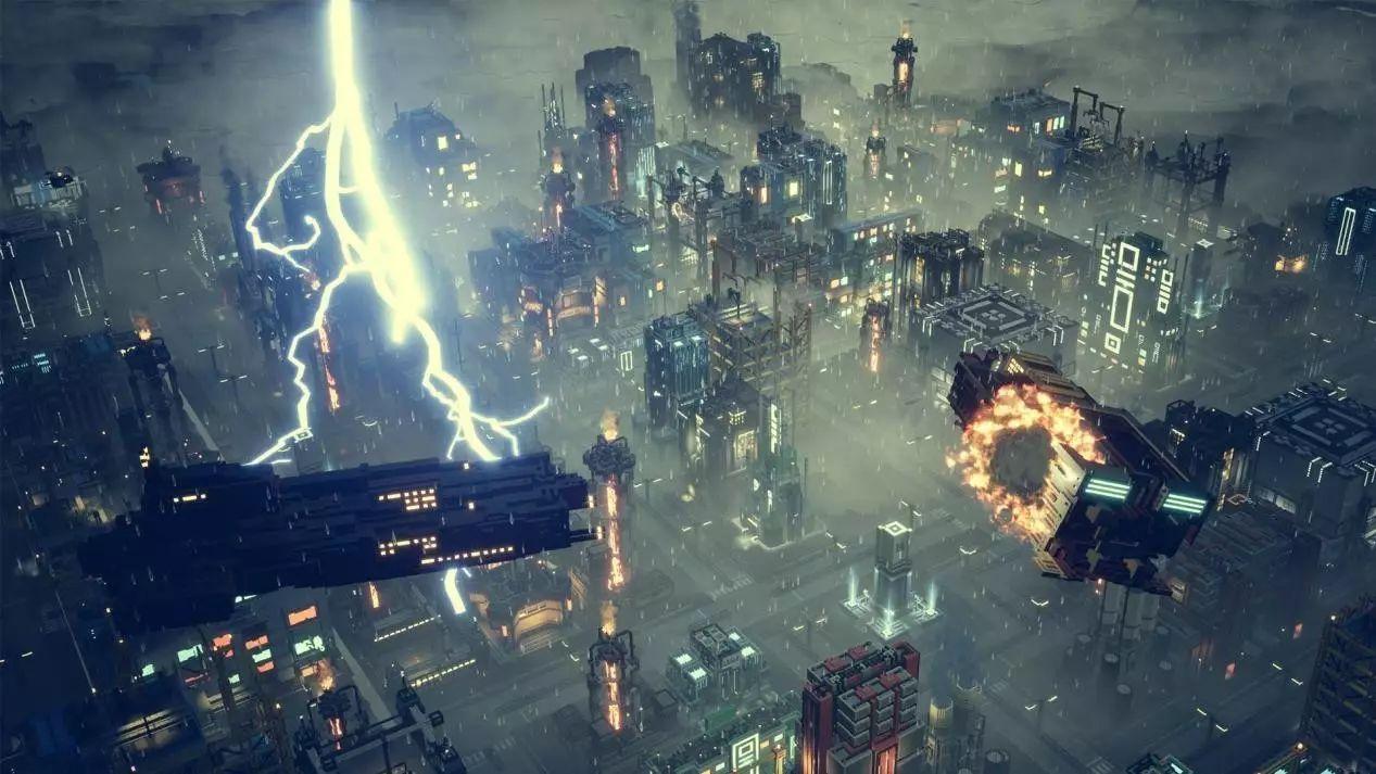 """科幻版""""模拟城市"""":《节奏地牢》的团队公开了新作"""