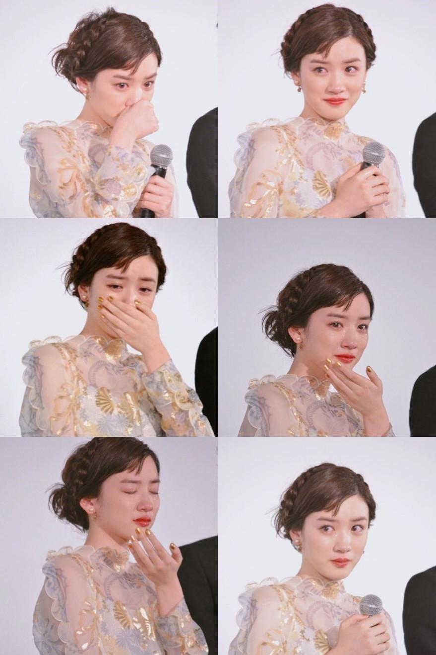 她因为仙女式哭泣火了,但哭起来好看的人还有这么多