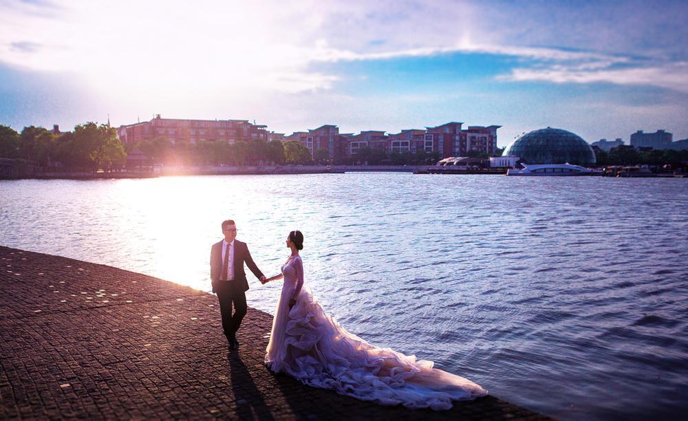 婚纱照故事:两人能够在一起,哪