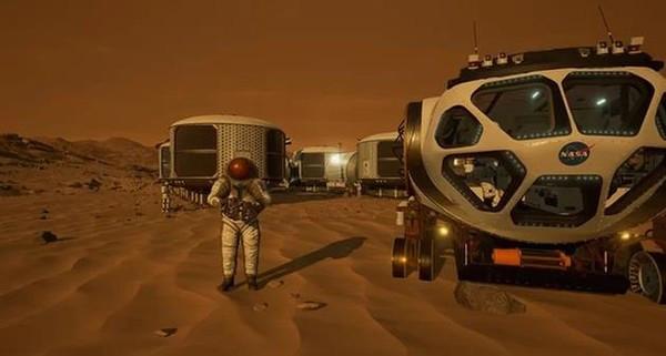 虚拟现实游戏《火星2030》