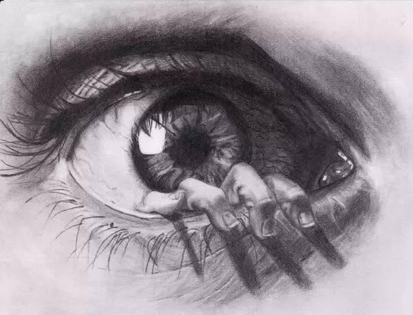 手绘眼睛绘画大全,简直美到不行!