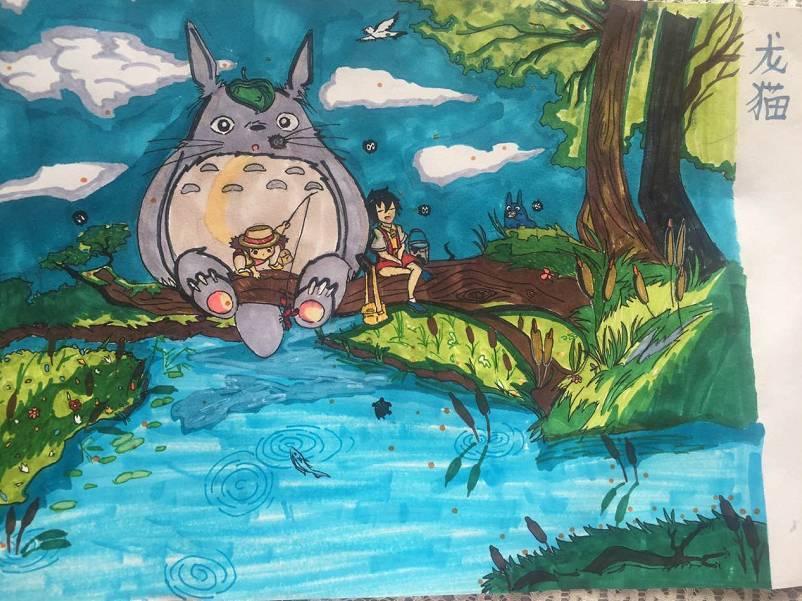 博隆杯·首届少儿绘画大赛获奖作品揭晓!速来围观!图片