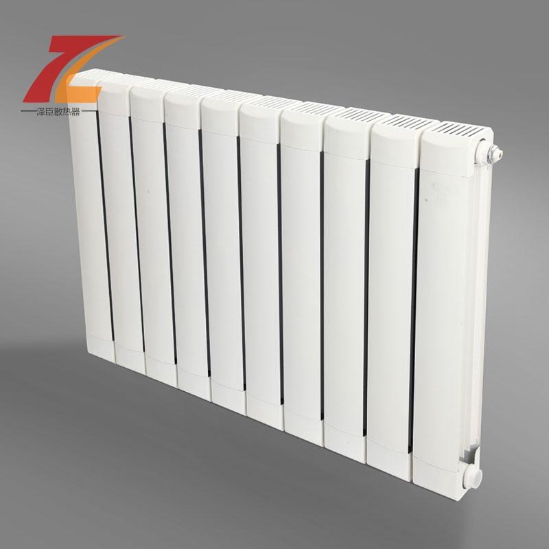 铜铝复合暖气片有着特殊的结构,内部为铜管,外部为铝片,铜管负责直接