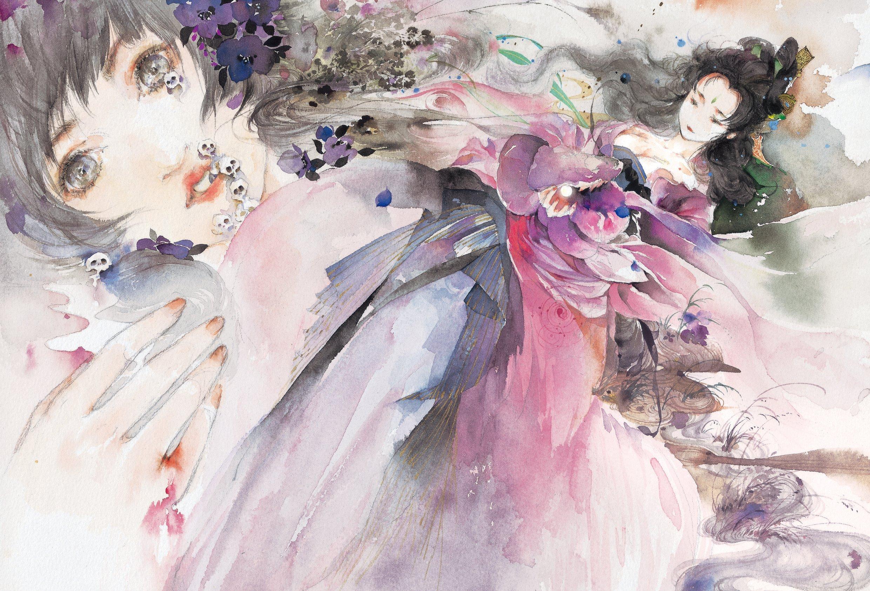 她是从古穿越至今的女诗人!以画作诗将动漫古风吹遍全世界!