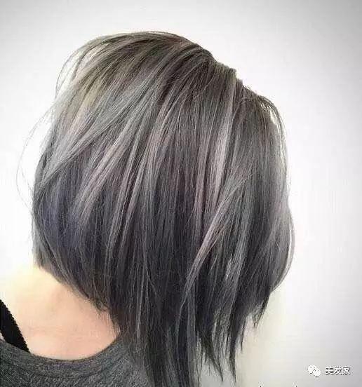 红颜  最适合短发的top 8 染色发型,你离女神的距离只