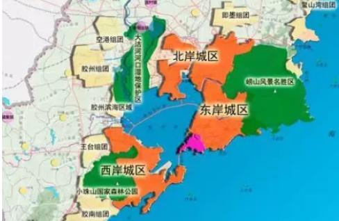 到2020年,青岛市中心城区道路网总长增至5705km