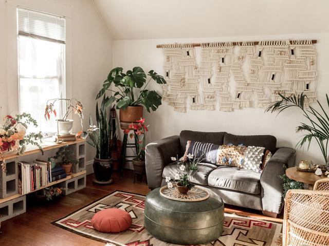 套内面积:53平 户型:一室一厅 风格:乡村田园 装修预算:5万元 客厅