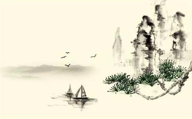 古风意境仙气手绘图片
