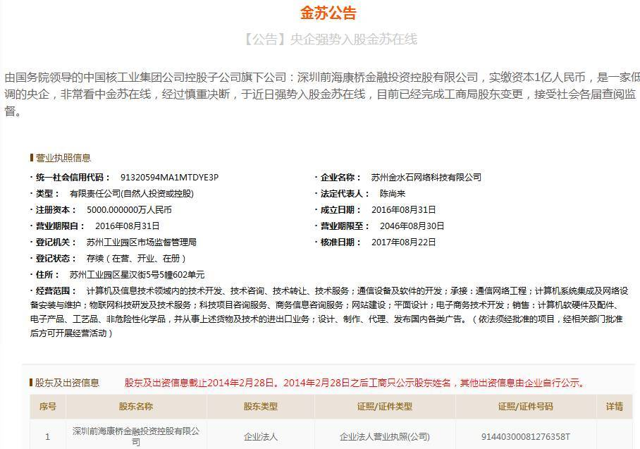 """金苏在线提现出问题,竟牵出整个""""华宇系""""疑似套利模式"""