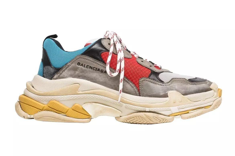 球鞋资讯_球鞋资讯丨balenciaga 全新鞋款 triple s 即将来袭,很炸!