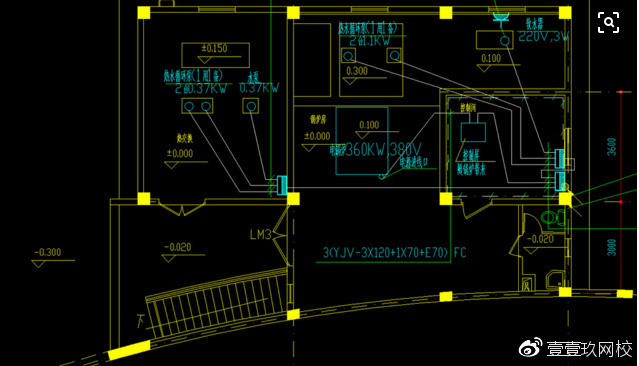 注册消防工程师必考点--锅炉房、变压器的平面布置平面设计一年级图片
