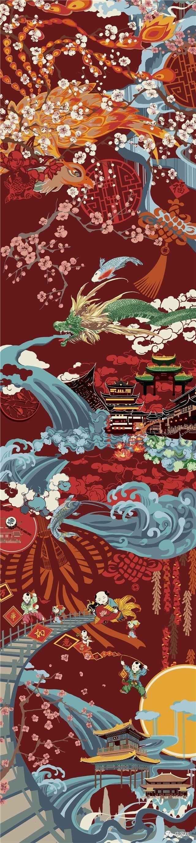 海宁家纺杯·2017中国家纺创意设计大赛获奖作品赏析图片