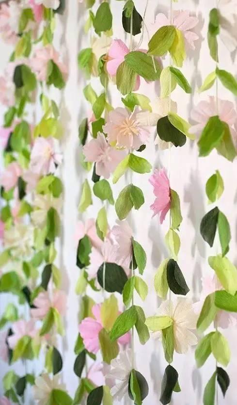 幼儿园皱纹纸手工制作 吊饰,美爆了!简直可以以假乱真