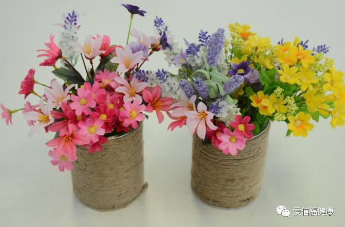 环保diy手工制作花
