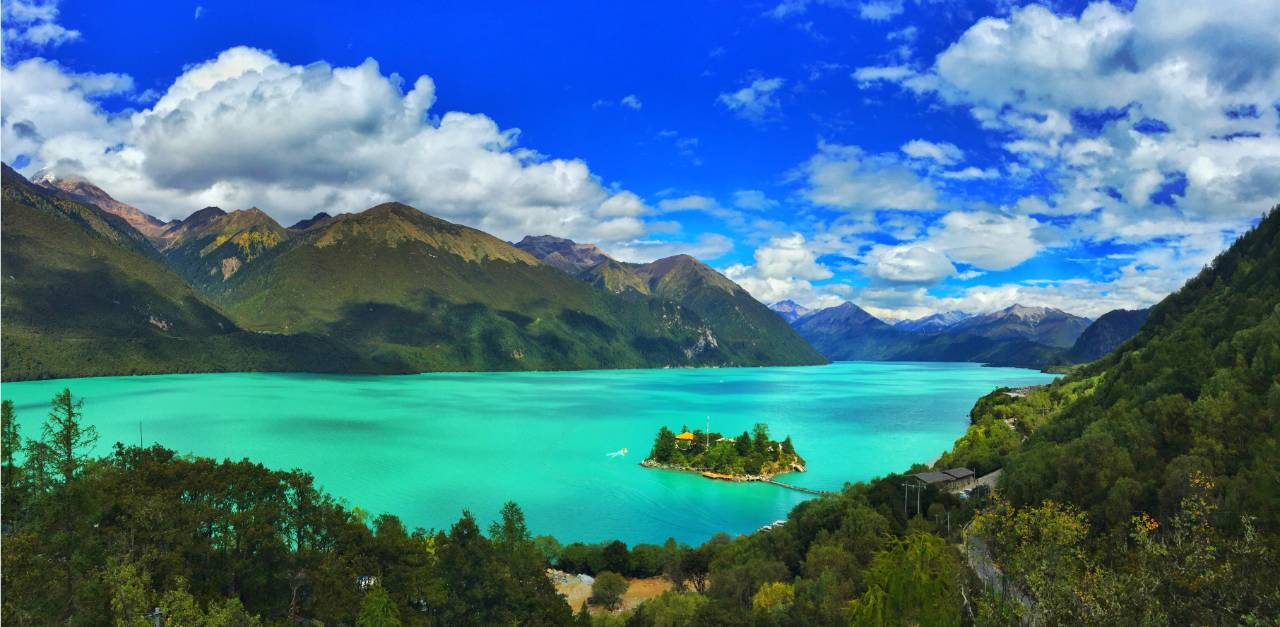 巅峰头条|2017年全国旅游援藏工作会议授牌巴松措5a级
