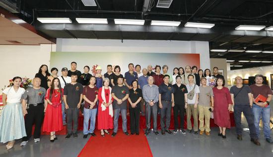 艺融北京――名家作品展在京隆重开幕