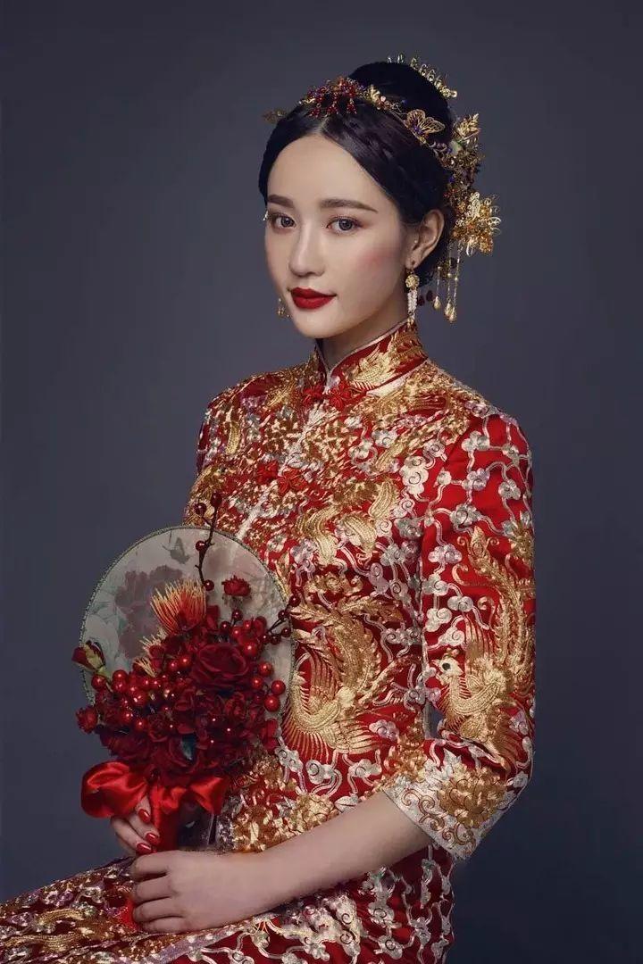 『中式旗袍』 看电影里的美人造型,