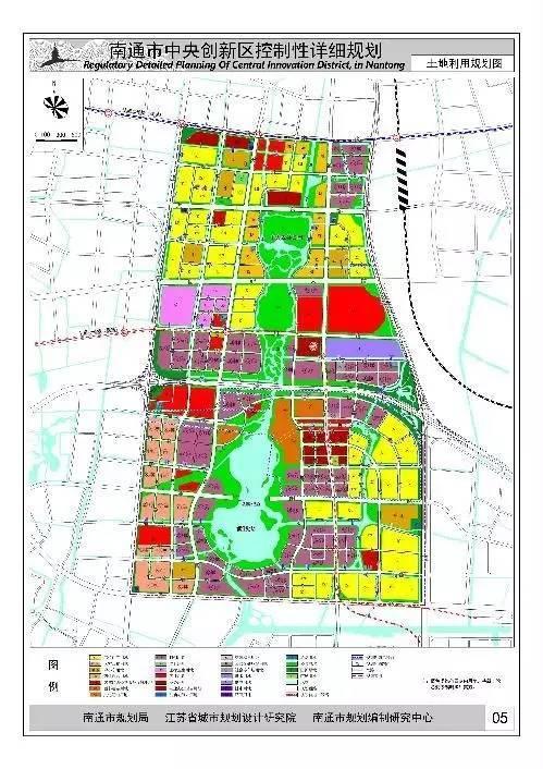 市政府批复南通中央创新区规划!地铁站,中小学,湖底隧道这么建