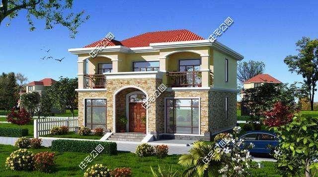 90后农村建别墅,说喜欢现代风格最后都建了简欧式,原因是露台?