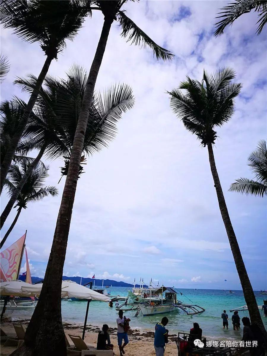 恋上长滩岛, 雨季也美丽