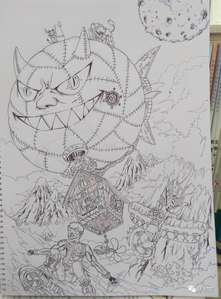 绘画代表我的心,教师节快乐!