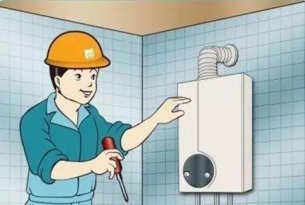 热水器与燃气管道连接时须专业人员安装图片