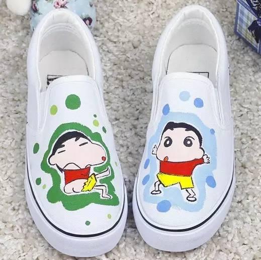 手工鞋子diy