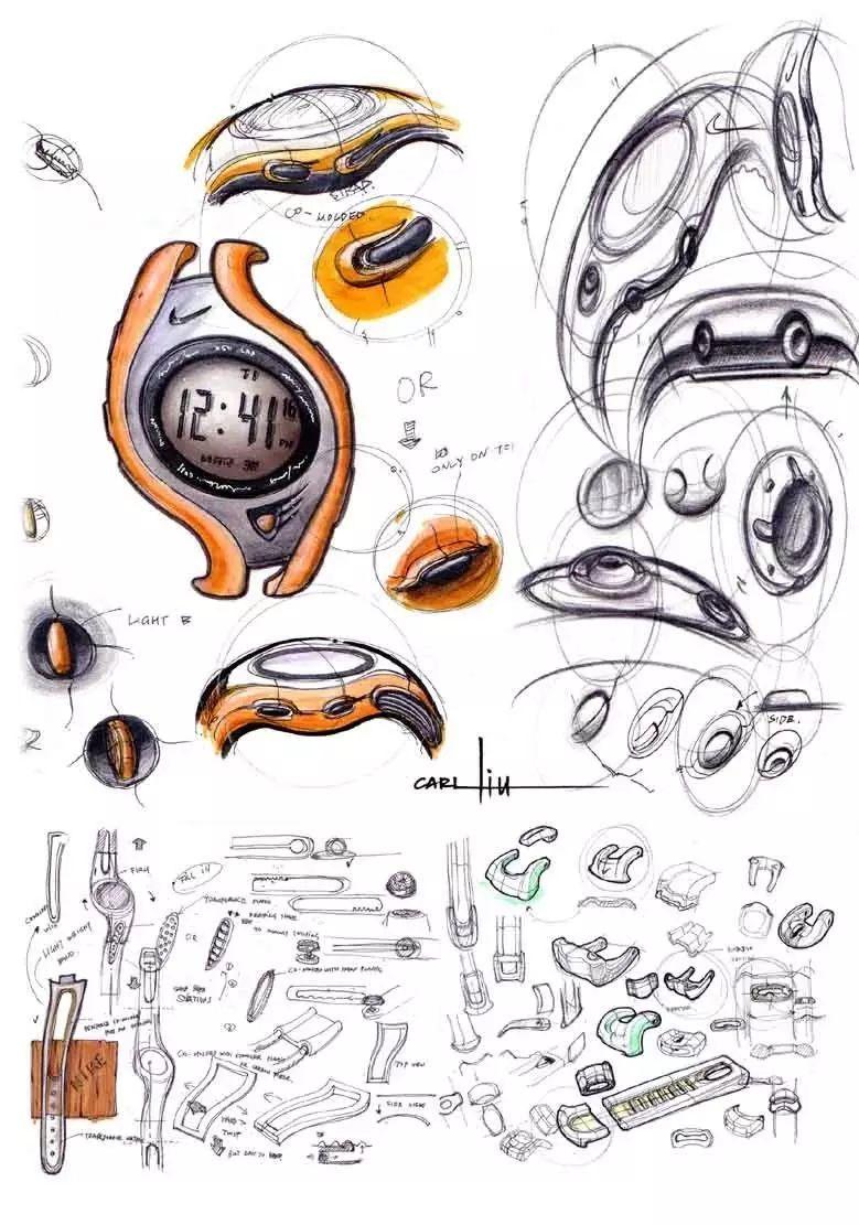 干货| 产品设计的排版,爆炸图排版图片