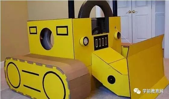 幼儿园手工飞机纸箱