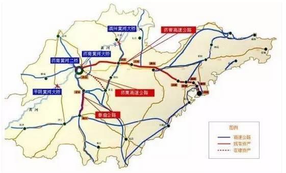 潍坊站到聊城的地图
