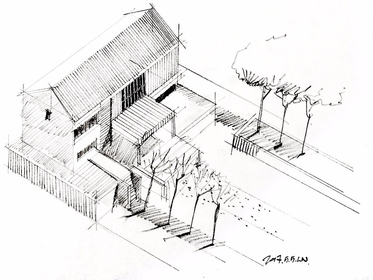 建筑,规划,景观专业表达手绘基础