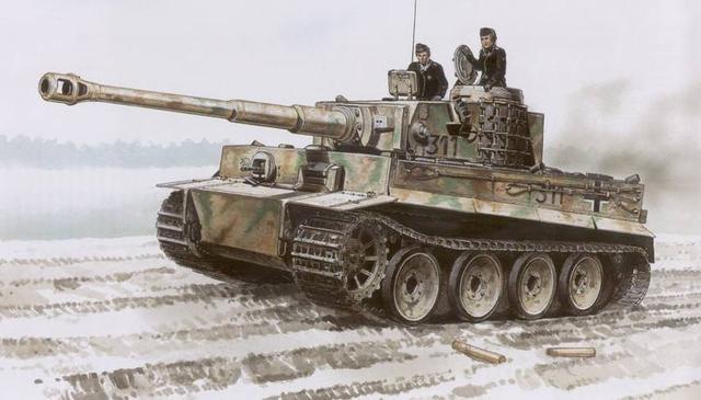 盘点二战五大坦克 美国来凑什么热闹