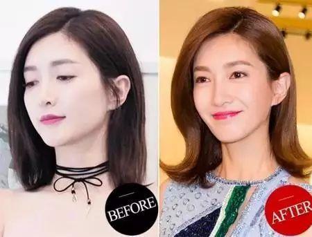 换发型只服陆依萍,她的短波波,人鱼卷,卡卡头2017全火