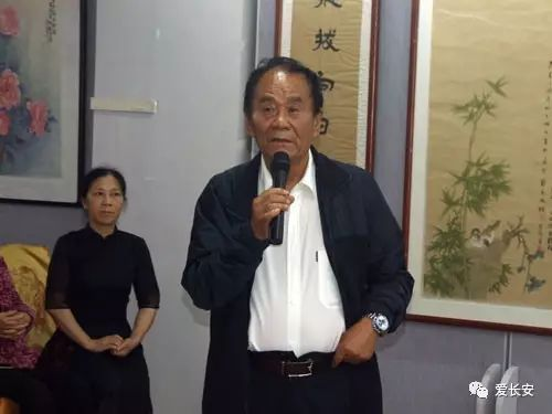 文化 正文  陕西政协书画院张魁院长发言,虽然和天成先生交往多年,但图片