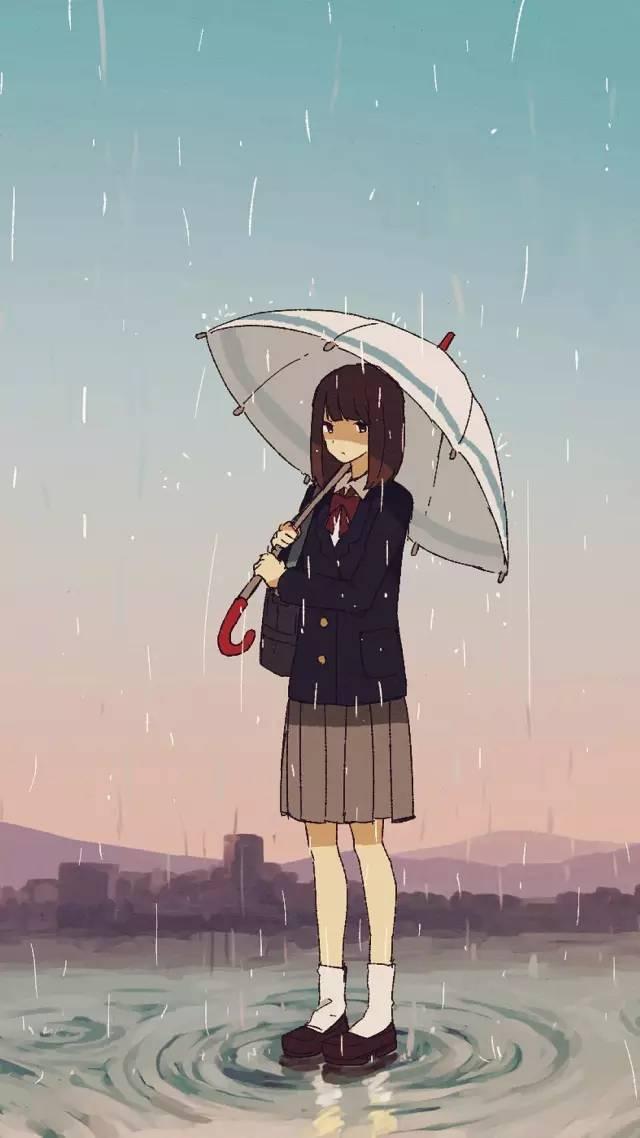 【下雨天】唯美雨天壁纸
