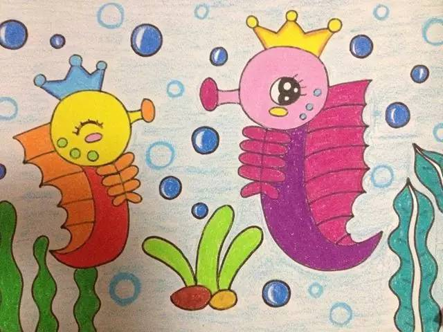 幼儿园儿童范画大全,范画绘画教程!老师家长快收藏!图片