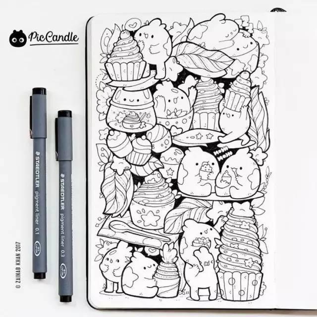 我用针管笔手绘画错了,用什么道具先打稿,如果底稿描的太粗太重就