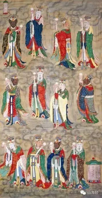 三清六御五方五老二十八星宿十殿阎罗七十二功曹,中国最全神仙排行榜