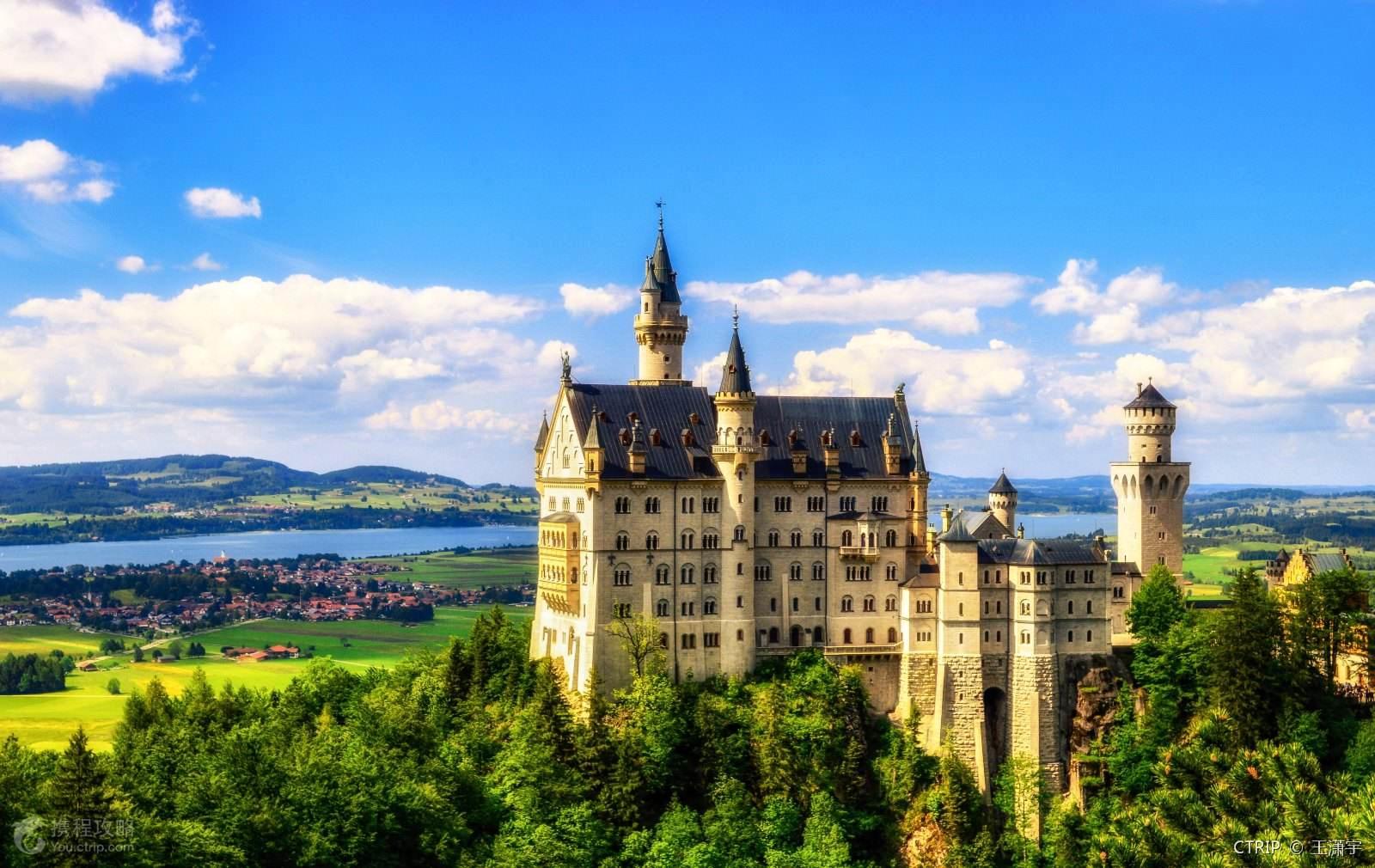 新天鹅堡,它为何是德国出镜率最高的景点?