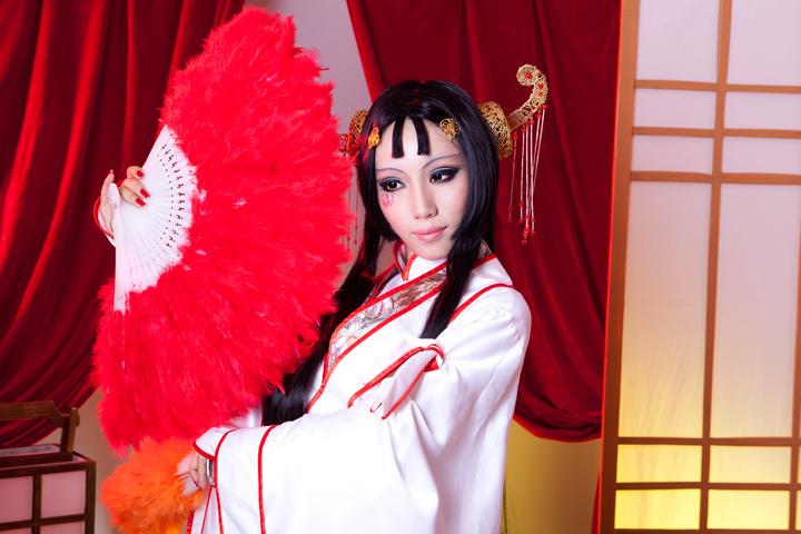 霹雳布袋戏五色妖姬cosplay图片