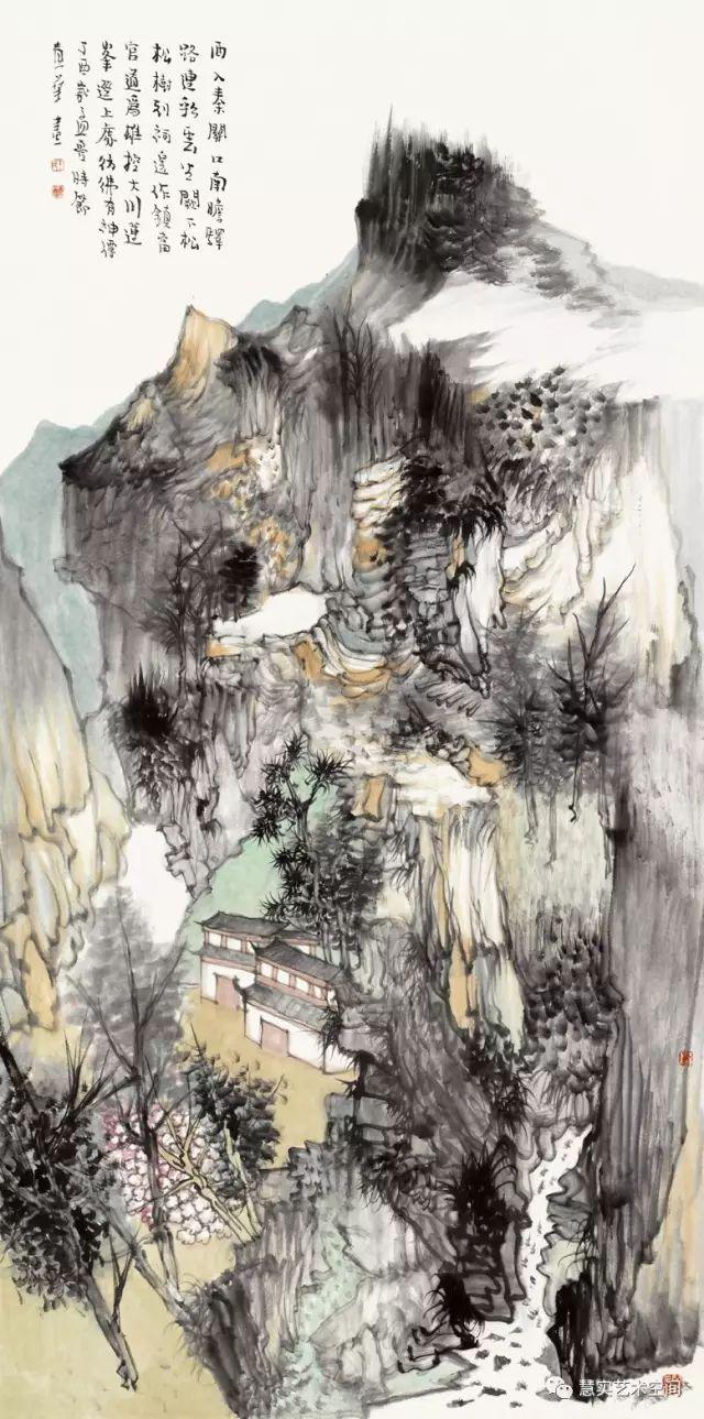 《圣博雅集》当代中国画名家学术邀请展——王贵华图片
