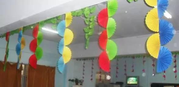 新学期幼儿园环境布置及手工制作