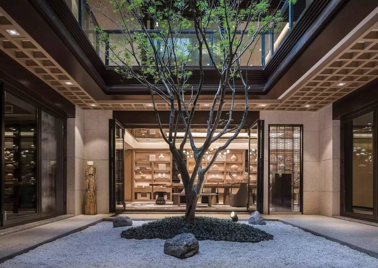 990㎡新中式园林别墅,生活与景致完美交融