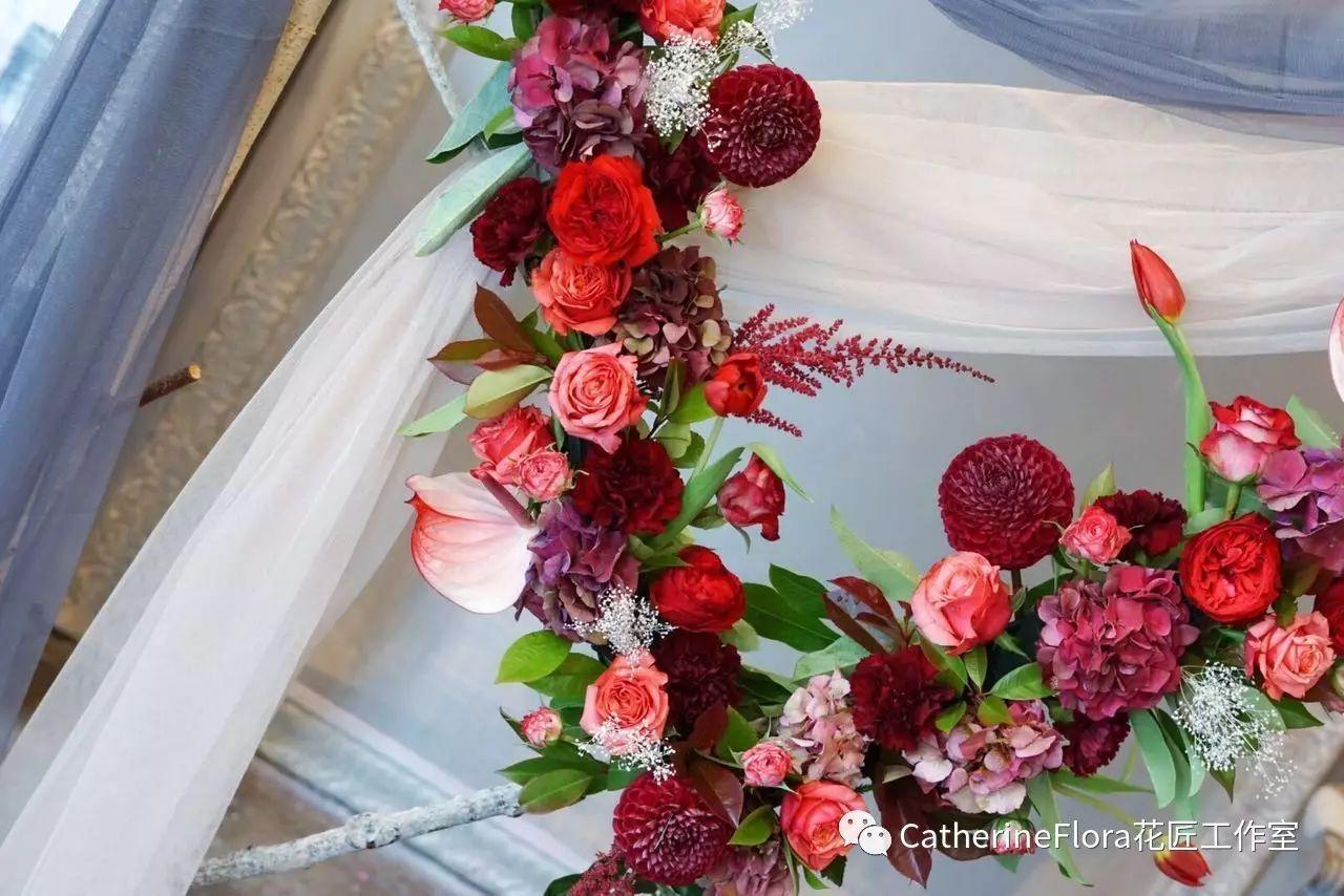 韩式花艺创业课,catherine flora07月系统花艺师培训