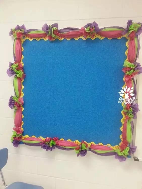 健康 正文  用彩纸做各种各样的花朵,贴在边框上装饰;或者把卡纸剪成