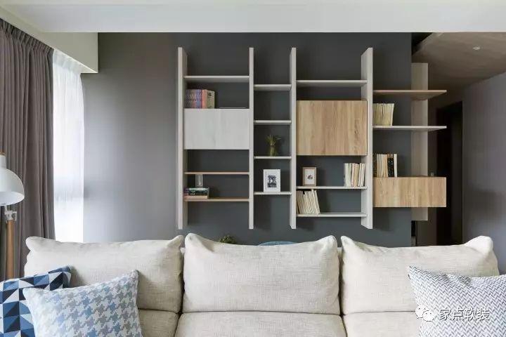 装修日记丨开放式的书房原来这么好用,简约木质北欧风图片